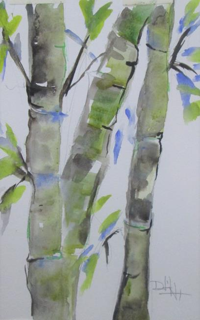 Art: Bamboo by Artist Delilah Smith