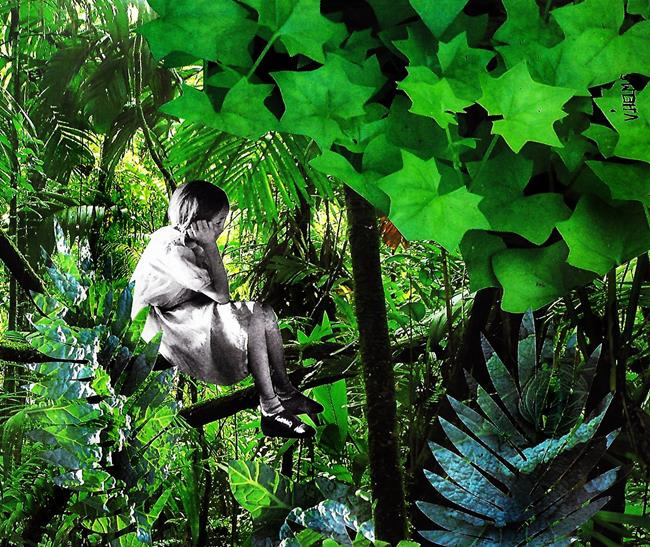 Art: The Day I Discovered the Breath of Trees by Artist Vicky Helms