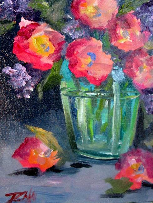 Art: New Flowers by Artist Delilah Smith