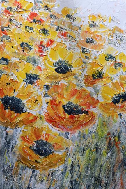 Art: SUMMER BLOOM by Artist LUIZA VIZOLI