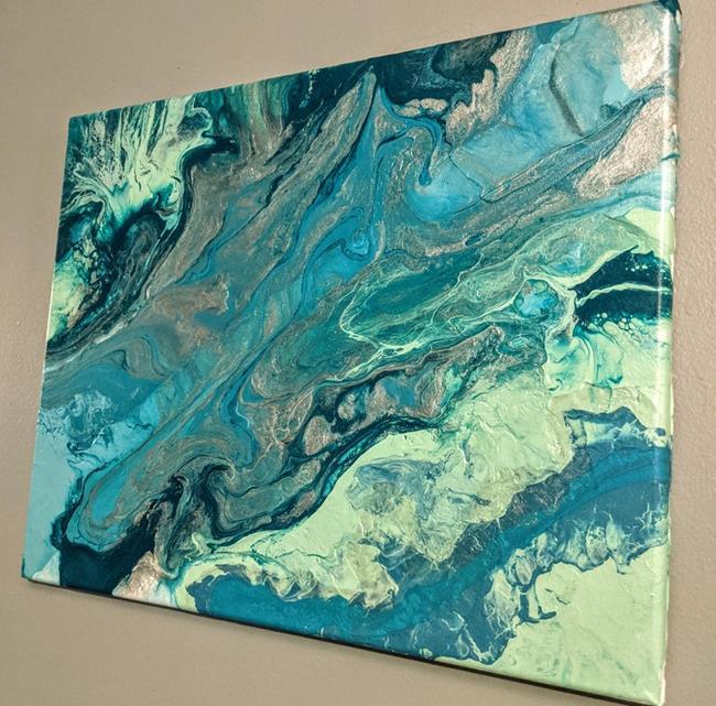Art: Ocean's Song (sold) by Artist Amber Elizabeth Lamoreaux