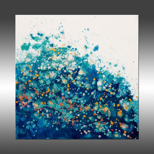 Art: Liquid Energy 25 by Artist Hilary Winfield