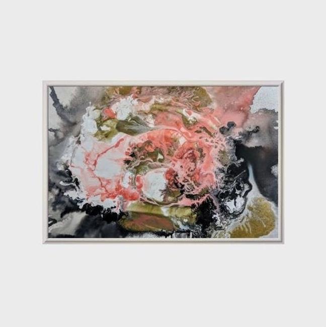 Art: Coral Overture III (sold) by Artist Amber Elizabeth Lamoreaux
