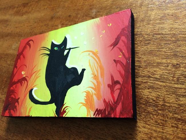 Art: Piper Cat by Artist Nico Niemi
