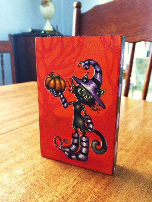 Art: Pumpkin Spice by Artist Nico Niemi