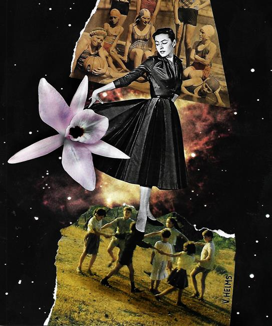 Art: The Woman I Used to Be by Artist Vicky Helms