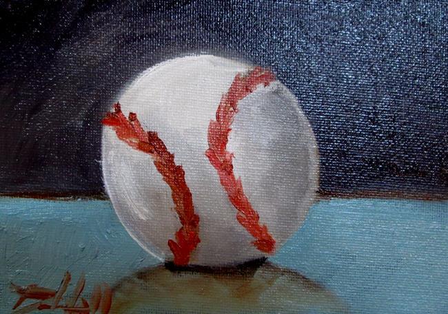 Art: Baseball by Artist Delilah Smith