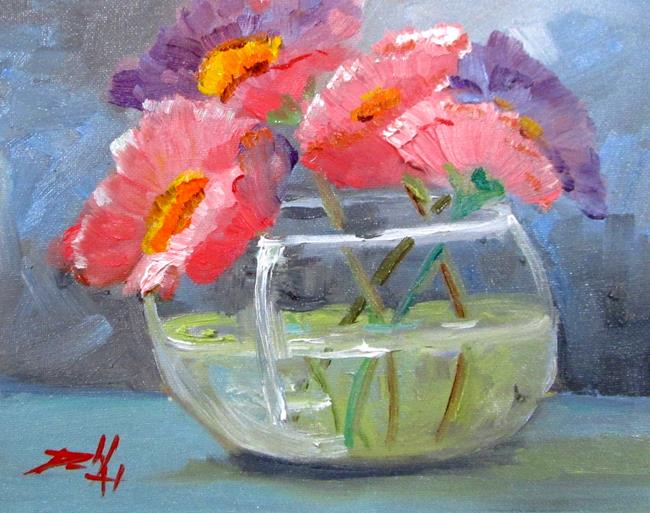 Art: Floral Still Life No. 18 by Artist Delilah Smith