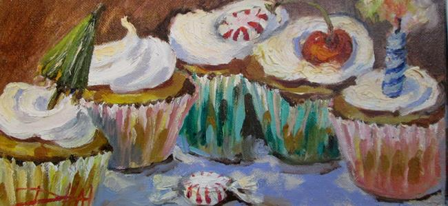 Art: Cupcake Party by Artist Delilah Smith