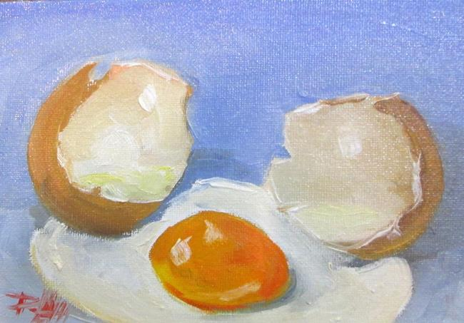 Art: Egg No. 4 by Artist Delilah Smith