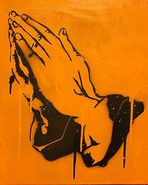 Art: Pray #2 by Artist Anthony Allegro