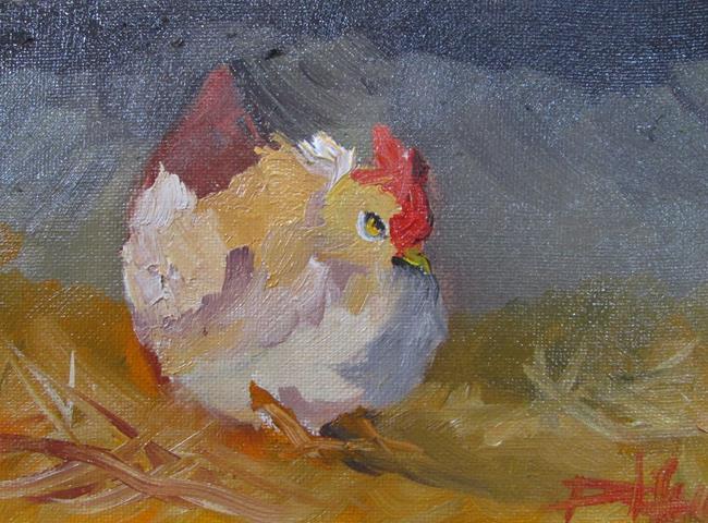 Art: Fat Hen by Artist Delilah Smith