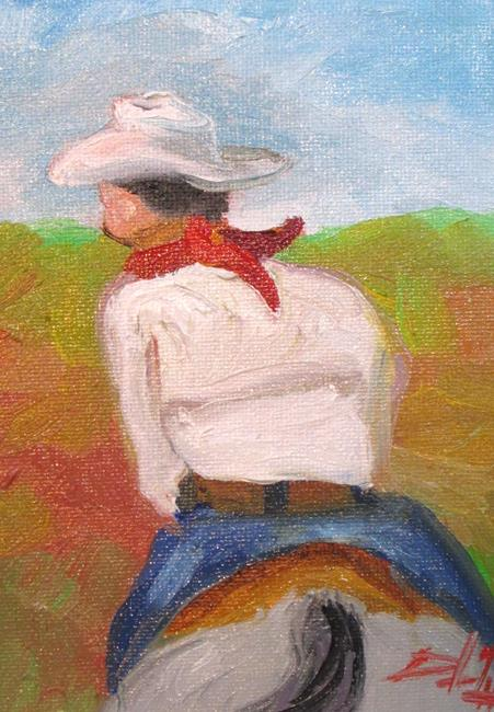 Art: Cowboy by Artist Delilah Smith
