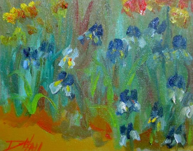 Art: Iris No. 22-sold by Artist Delilah Smith