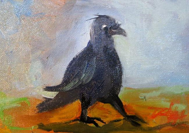 Art: Crow No. 3 by Artist Delilah Smith