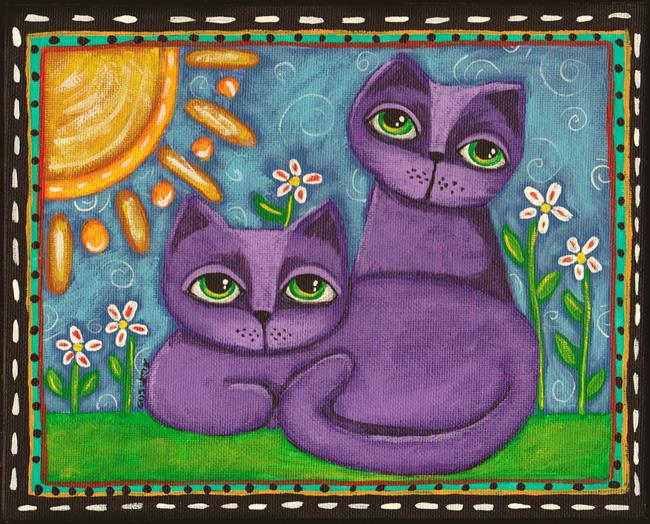 Art: Good Day by Artist Cindy Bontempo (GOSHRIN)