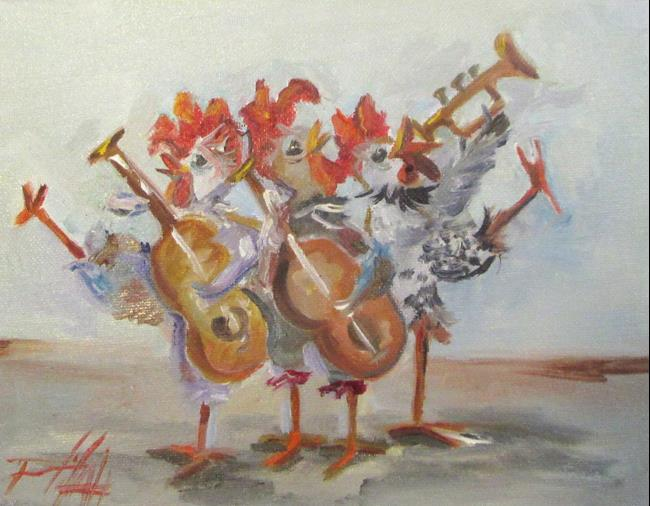 Art: Chick Band by Artist Delilah Smith