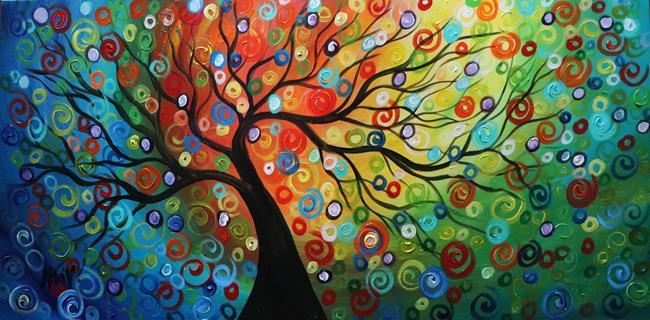 Art: Seasons by Artist LUIZA VIZOLI