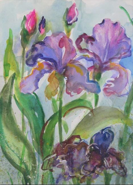 Art: Iris No. 23 by Artist Delilah Smith
