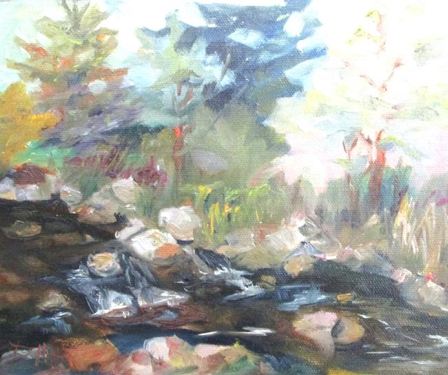 Art: Fast Water by Artist Delilah Smith