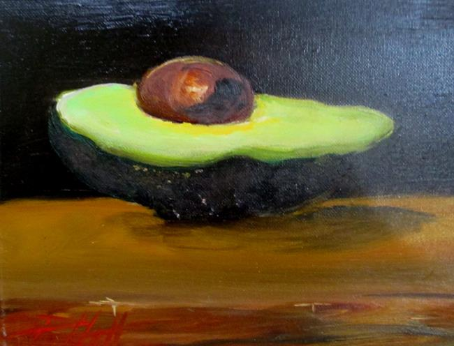 Art: Avocado by Artist Delilah Smith