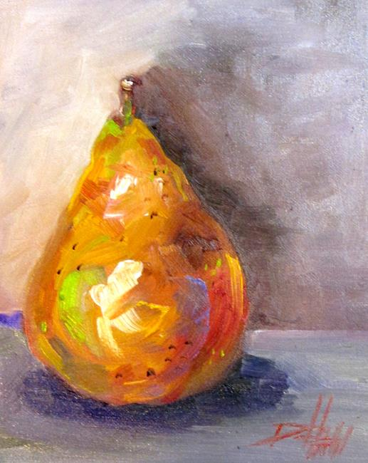 Art: Pear No. 13 by Artist Delilah Smith