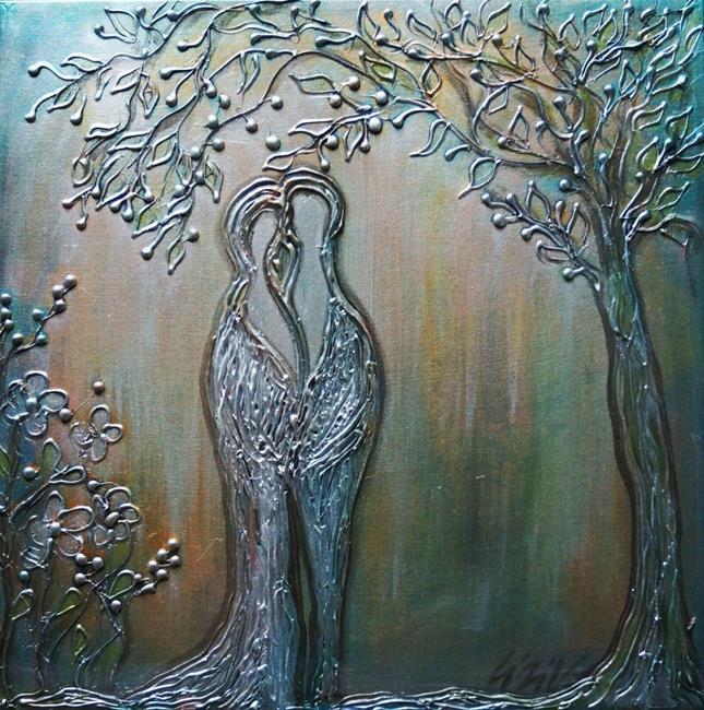 Art: MOON WEDDING by Artist LUIZA VIZOLI