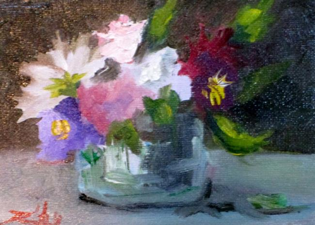 Art: Floral Still Life No. 19 by Artist Delilah Smith