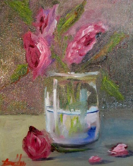 Art: Posies by Artist Delilah Smith