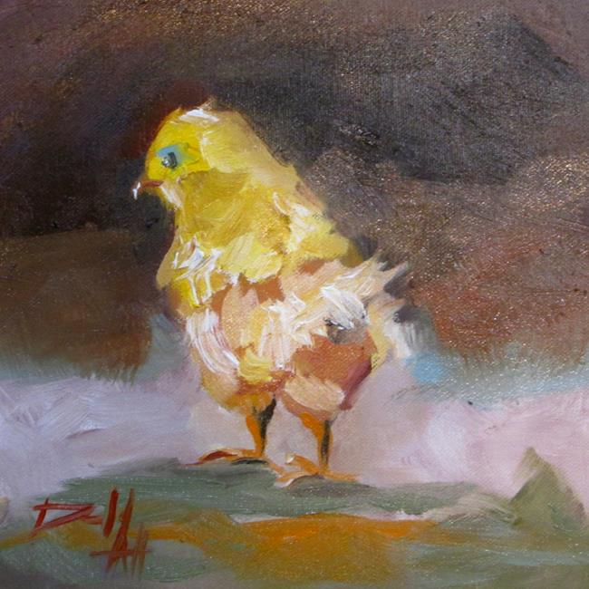 Art: Little Chick No. 4 by Artist Delilah Smith