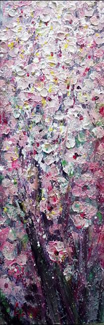Art: PINK APPLE BLOSSOM by Artist LUIZA VIZOLI