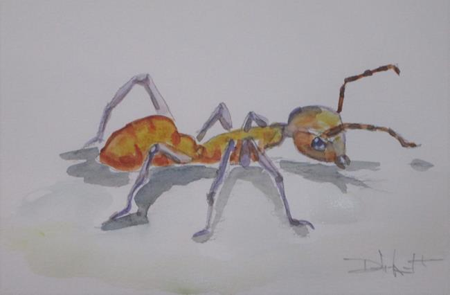 Art: Brown Ant by Artist Delilah Smith