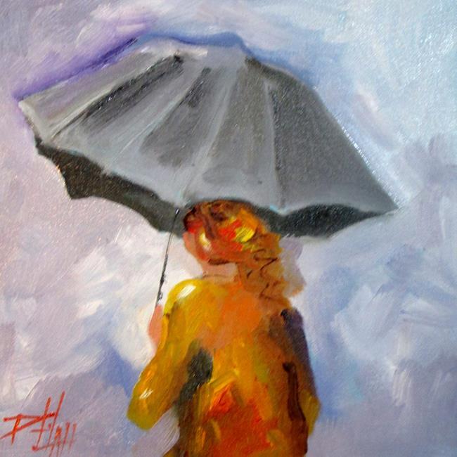 Art: Umbrella by Artist Delilah Smith