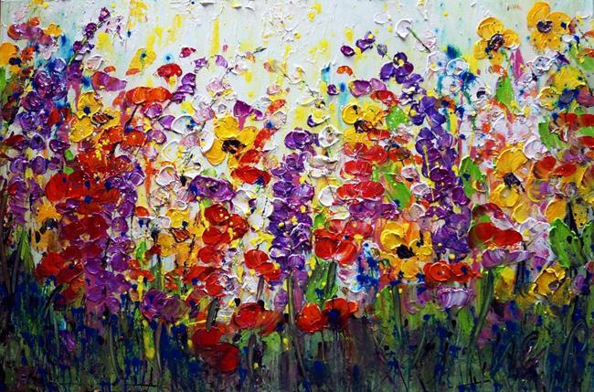 Art: SUMMER RHAPSODY by Artist LUIZA VIZOLI