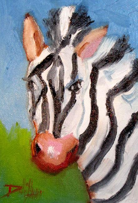 Art: Zibra by Artist Delilah Smith