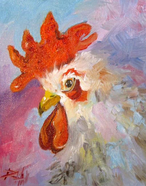 Art: Proud Rooster by Artist Delilah Smith