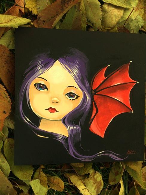 Art: Night Fairy by Artist Nico Niemi