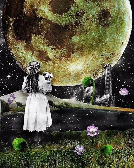 Art: Emotional Landscapes - Identifying the Lightsource 2 by Artist Vicky Helms