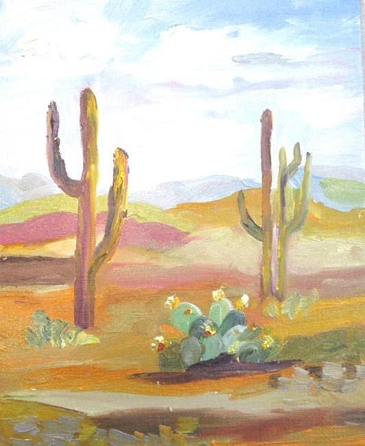 Art: Desert by Artist Delilah Smith