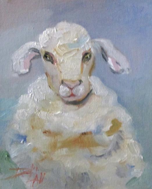 Art: Lamb No. 3 by Artist Delilah Smith