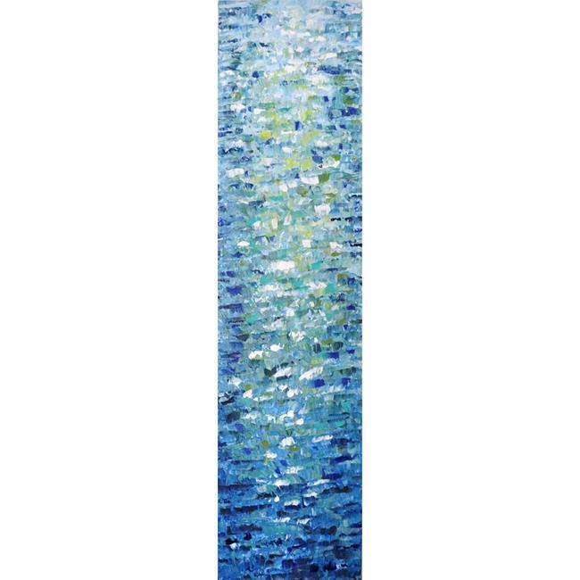 Art: WATER Reflections by Artist LUIZA VIZOLI