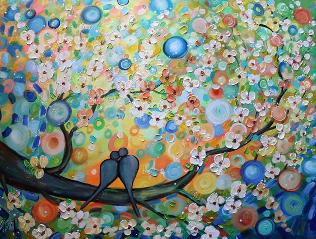 Art: THE KISS HAPPY MOMENTS by Artist LUIZA VIZOLI