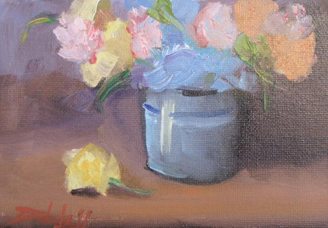 Art: Floral Still Life No. 14 by Artist Delilah Smith