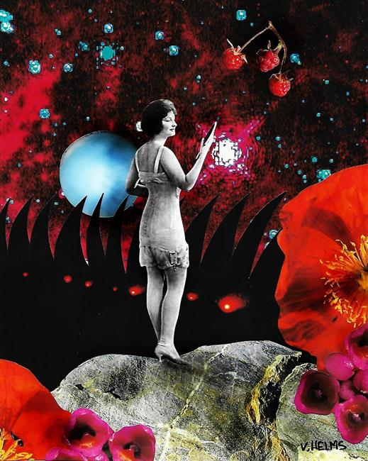 Art: Rising Above by Artist Vicky Helms