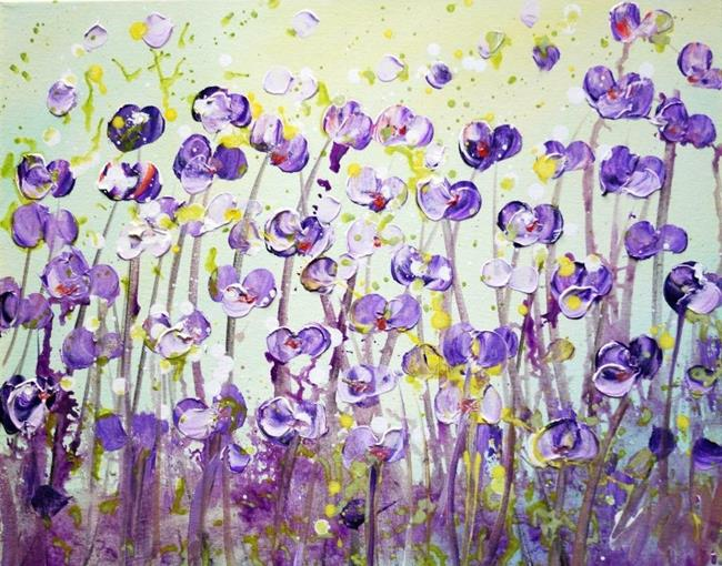 Art: SUMMER in Lavender Colors by Artist LUIZA VIZOLI