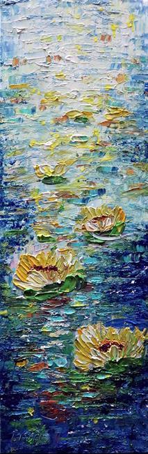 Art: WATER and FLOWERS by Artist LUIZA VIZOLI