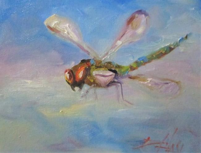 Art: Dragonfly No. 19 by Artist Delilah Smith