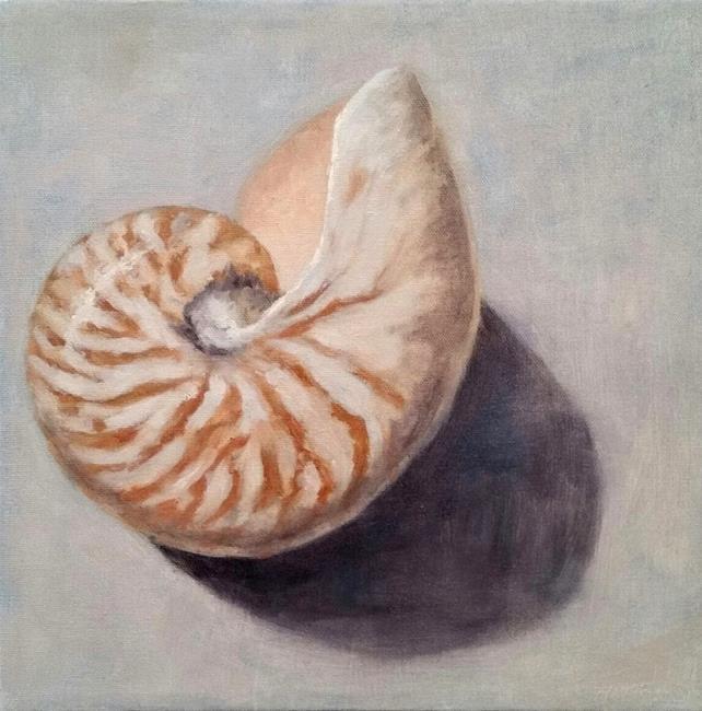 Art: Shell, Oil Painting Demonstration by Artist Kimberly Vanlandingham