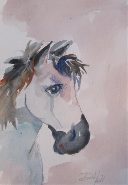 Art: Horse No. 9 by Artist Delilah Smith