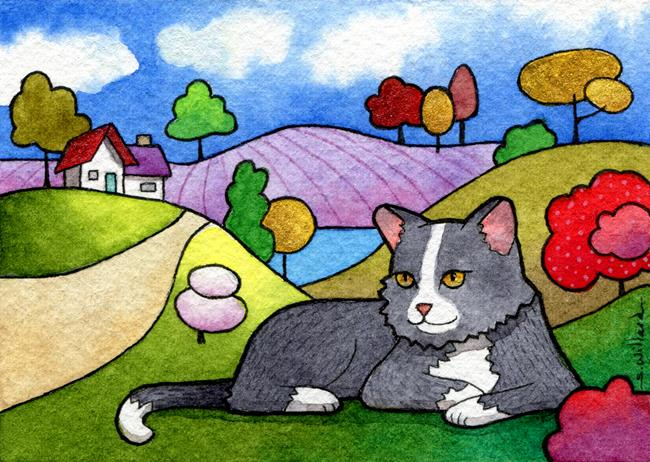 Art: Loyal Friend by Artist Sandra Willard